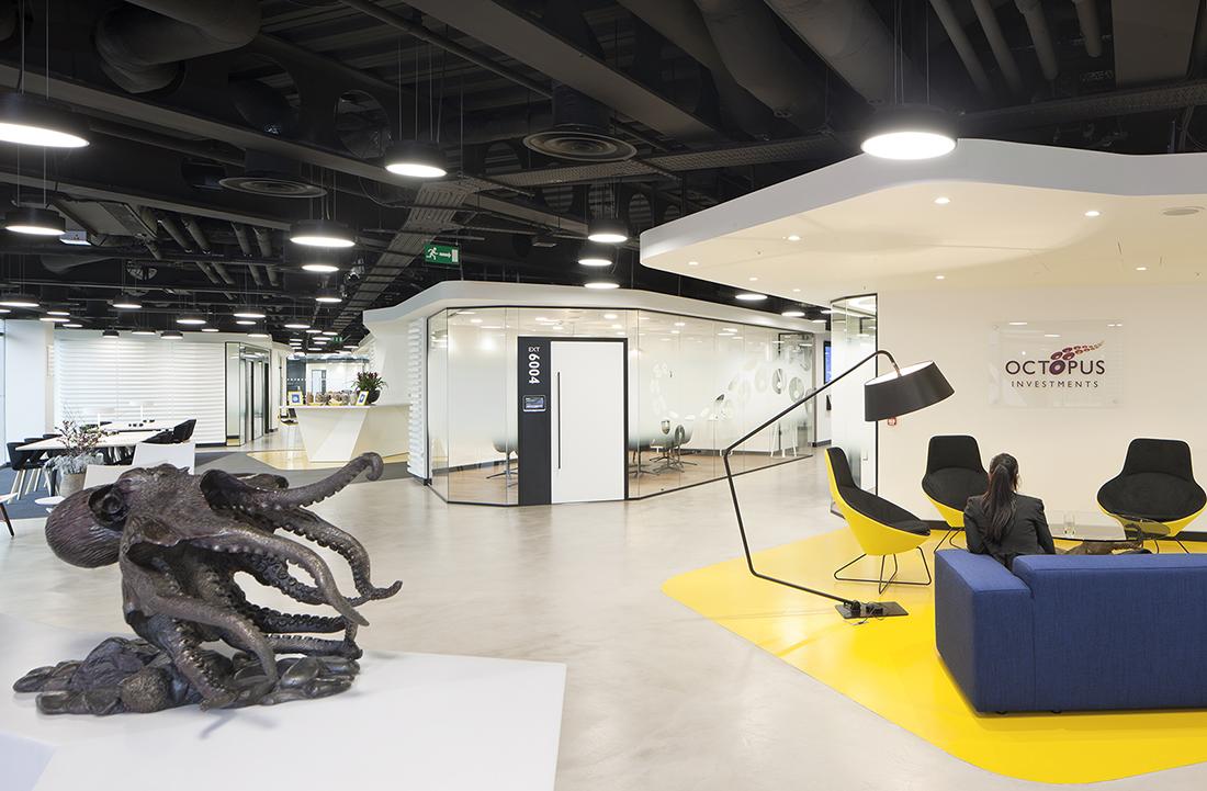 Inside Octopus Investments New London Office Officelovin