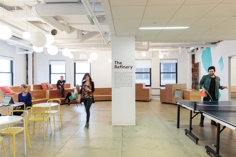 Another Look Inside Refinery29 S Stylish Nyc Headquarters
