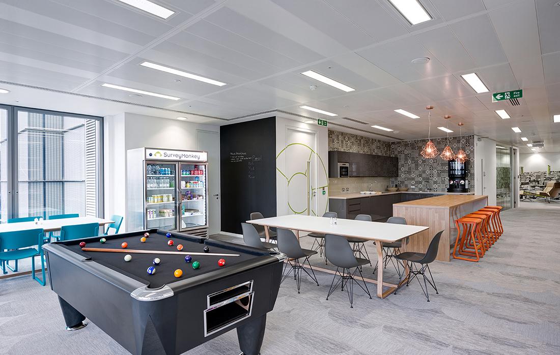A Look Inside SurveyMonkey's New London HQ