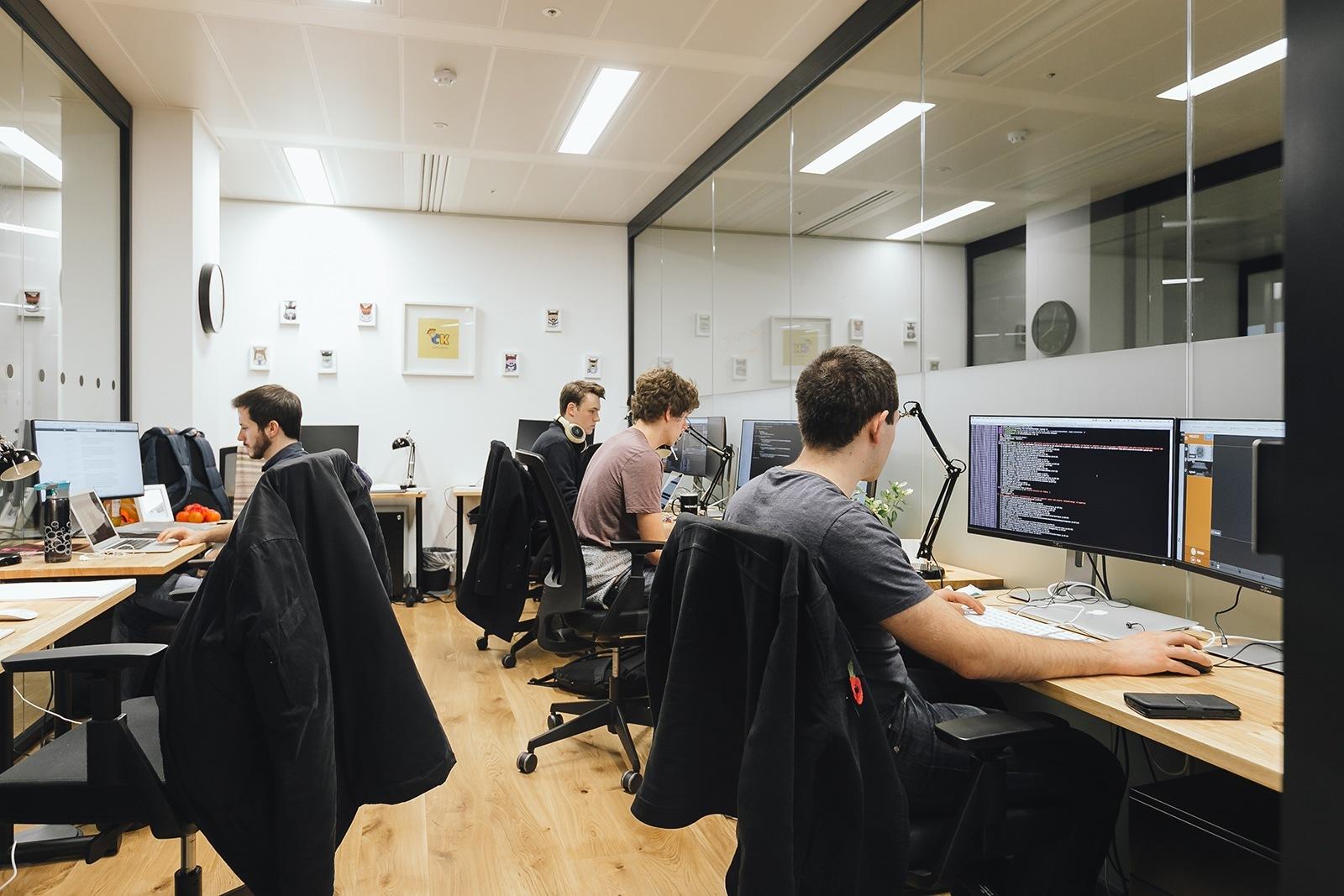 A tour of wework spitalfields officelovin 39 for Office interior work