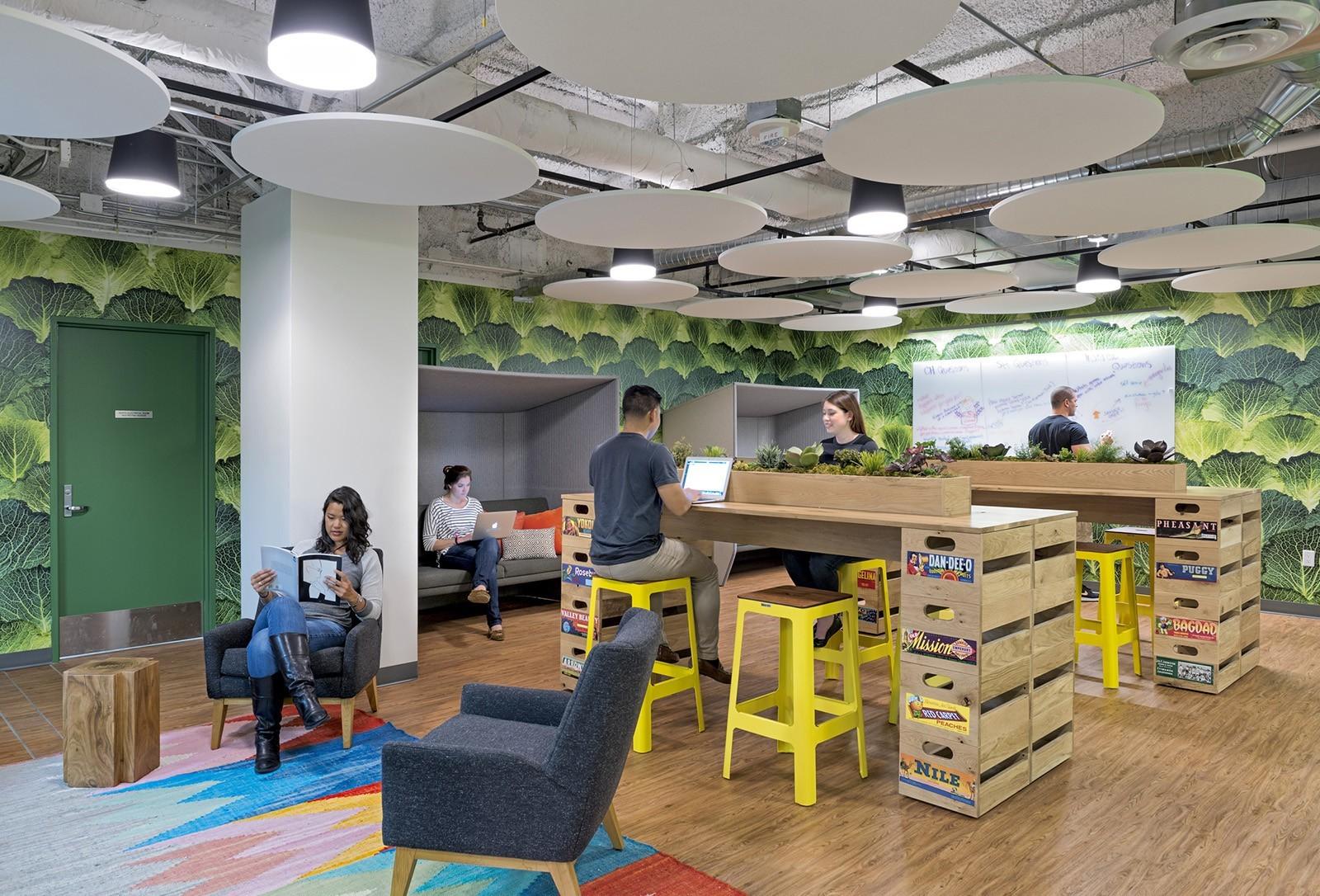 A Tour Of Instacart S New Sleek San Francisco Office