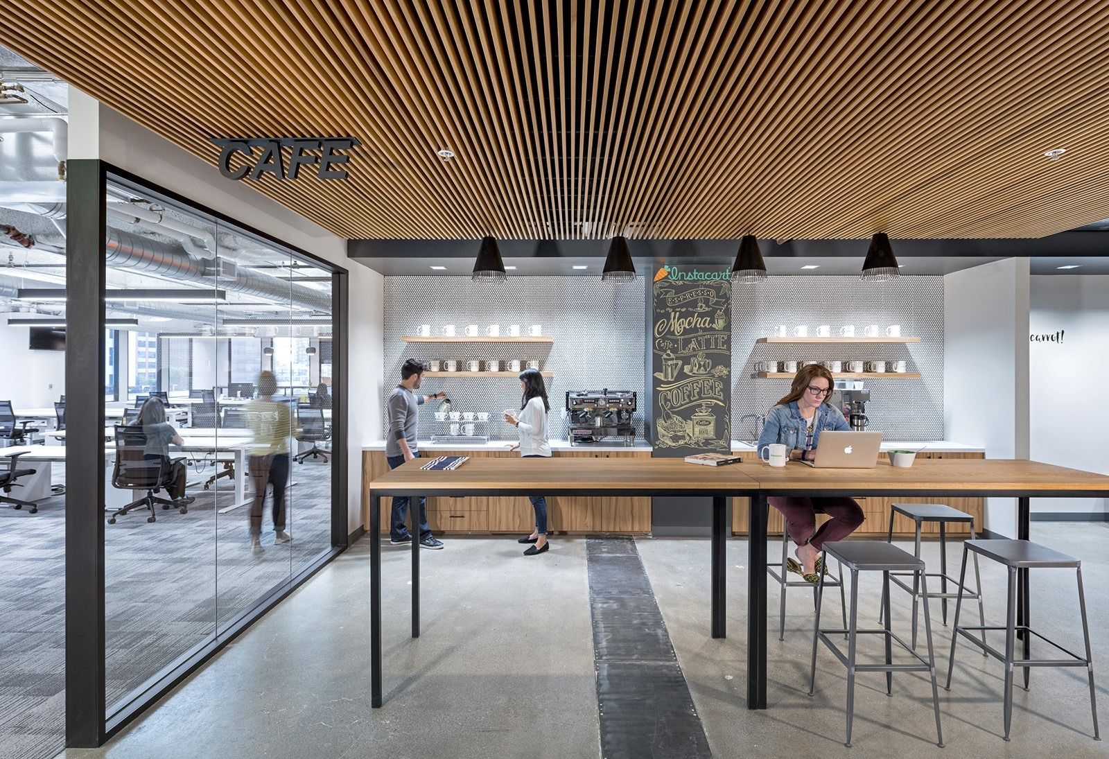 A Tour Of Instacarts New Sleek San Francisco Office