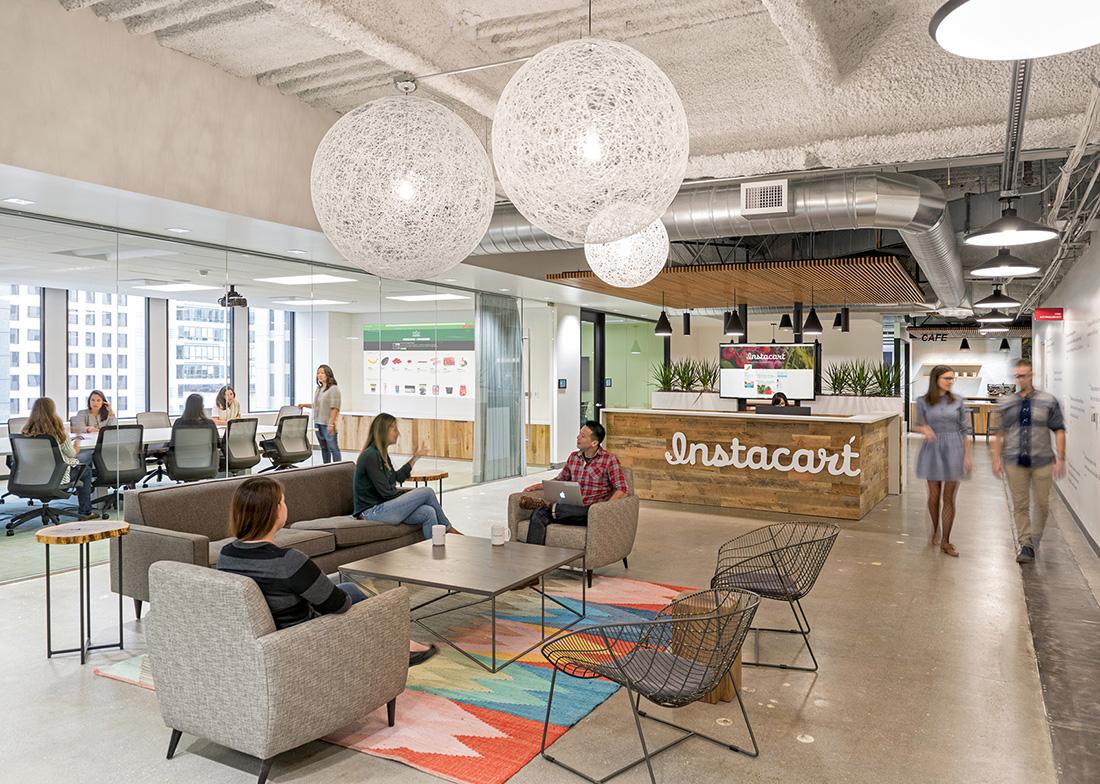 A Tour of Instacart's New Sleek San Francisco Office - Officelovin'