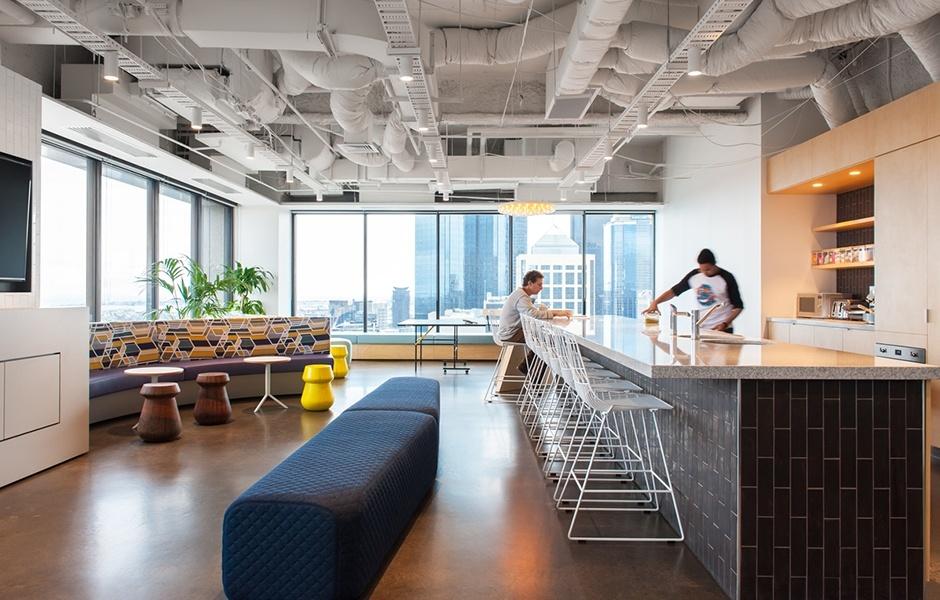 Take a Look at MessageMedia's Elegant Melbourne Office
