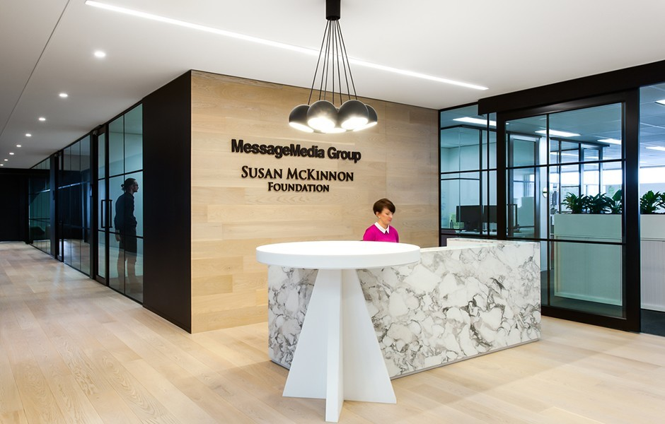 take a look at messagemedia u2019s elegant melbourne office