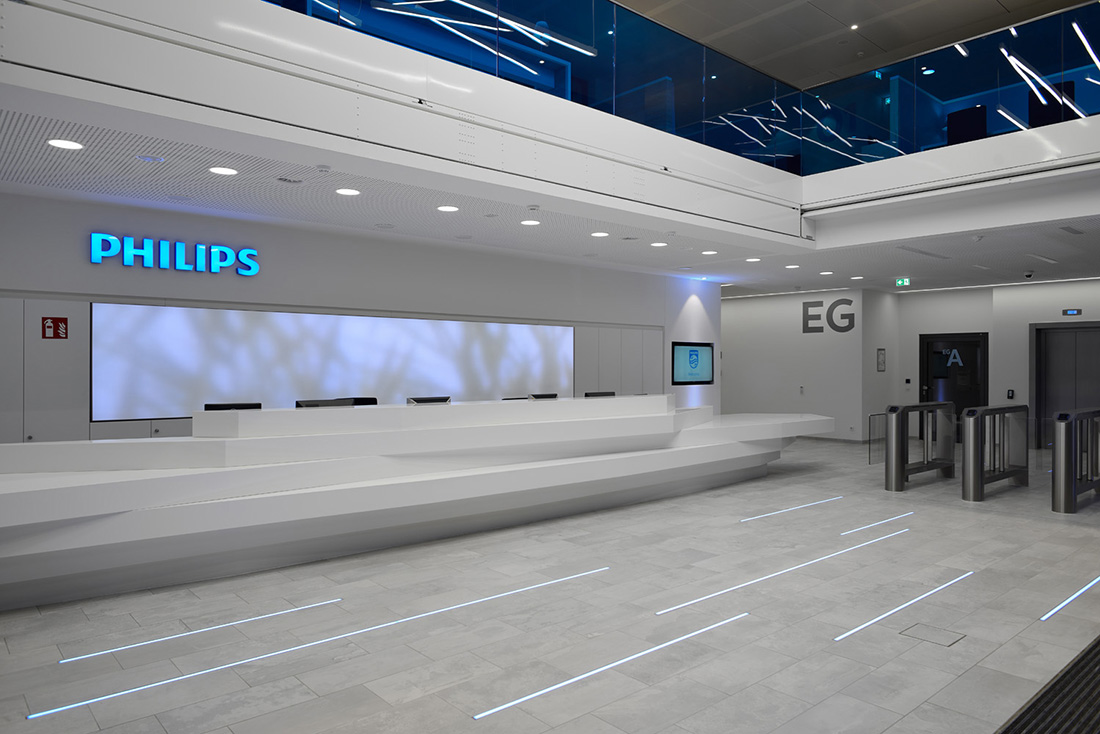 A Tour of Philips' New Hamburg Headquarters - Officelovin'