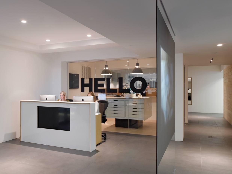 Inside possible s modern london office officelovin 39 for Design agency london