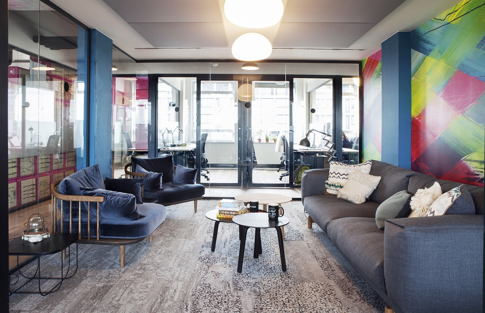 Rooms: A Tour Of WeWork's New Coworking Space In Amsterdam