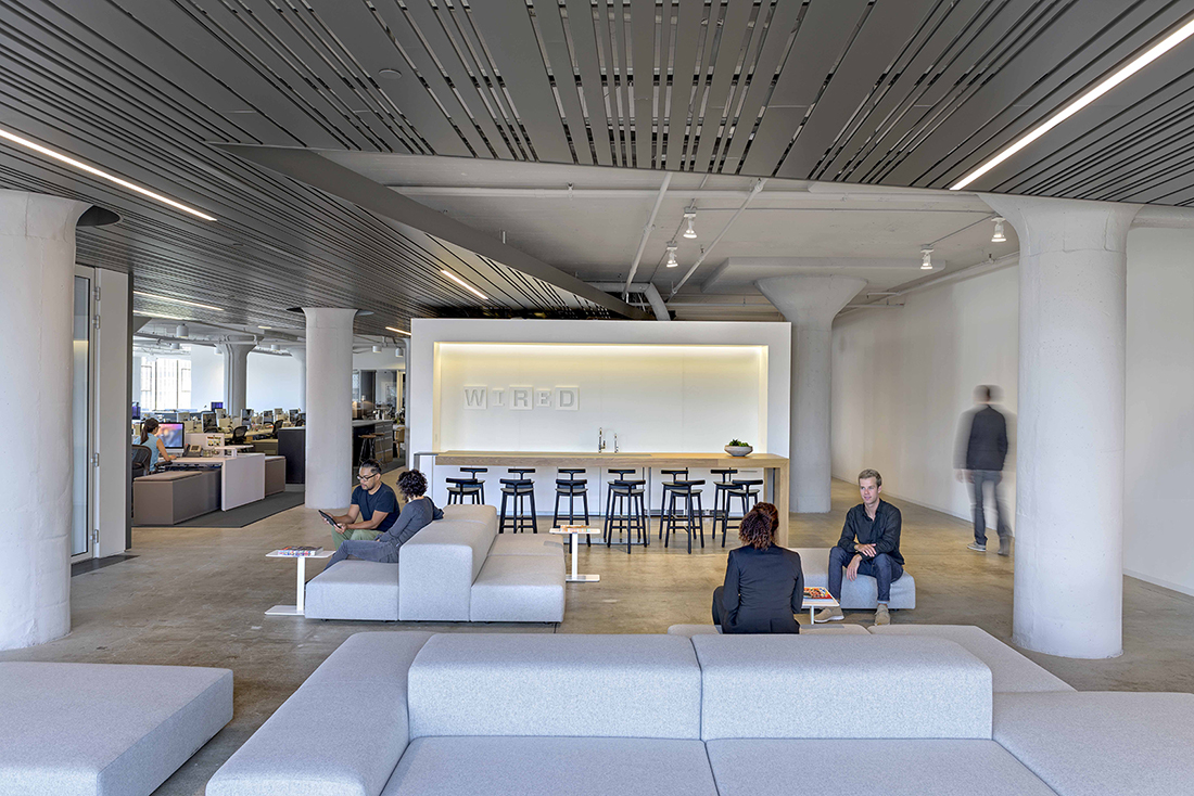 A tour of wired s new sleek san francisco headquarters for Bureau high tech
