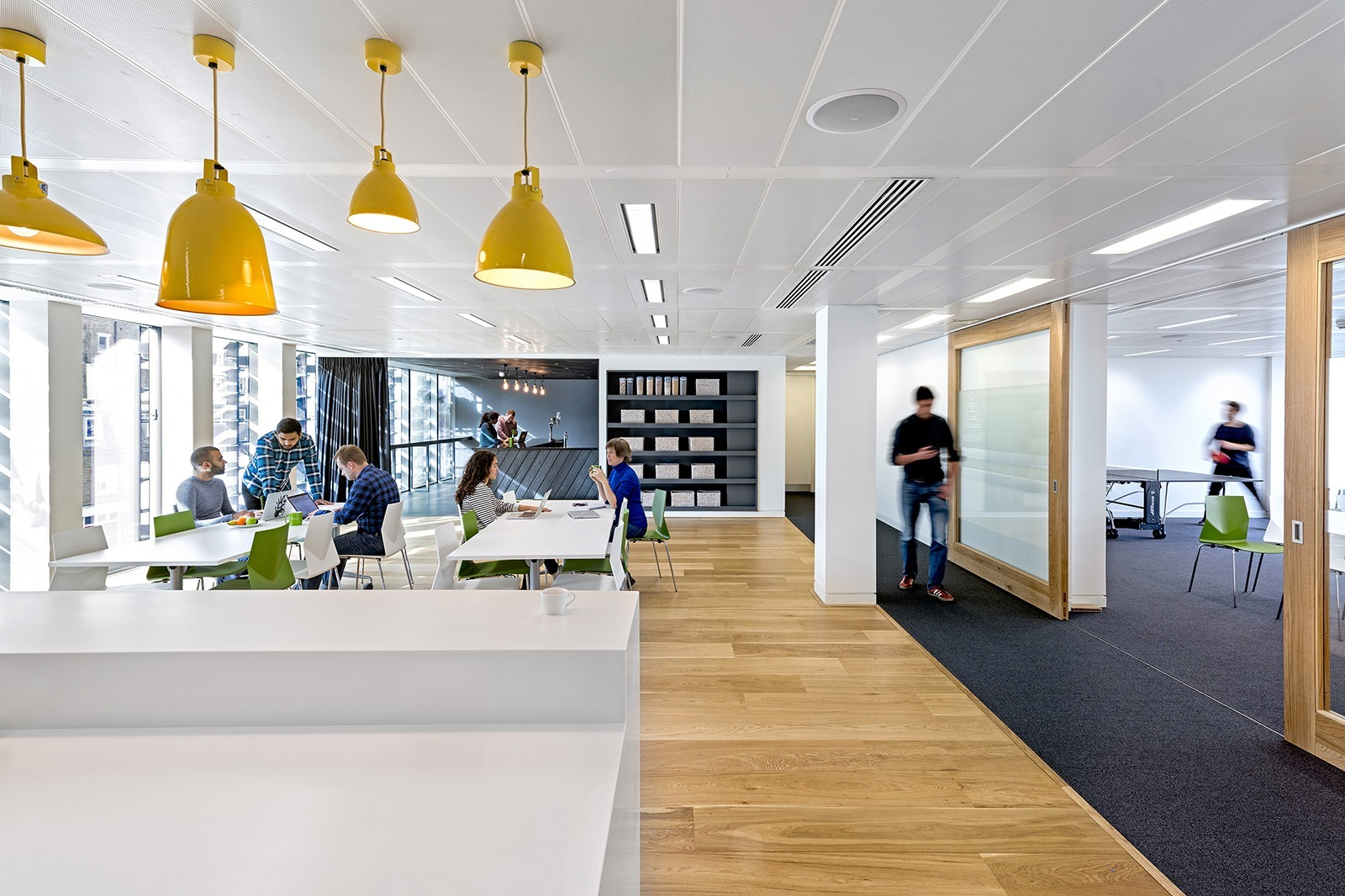 A tour of zendesk s new super cool london office for Zendesk office design