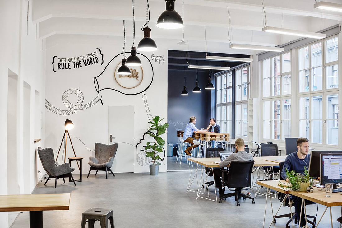 A Tour Of Bubble S New Super Cool Office Officelovin