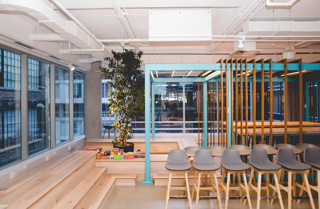 Inside Shopify's New Amazing Montreal Office