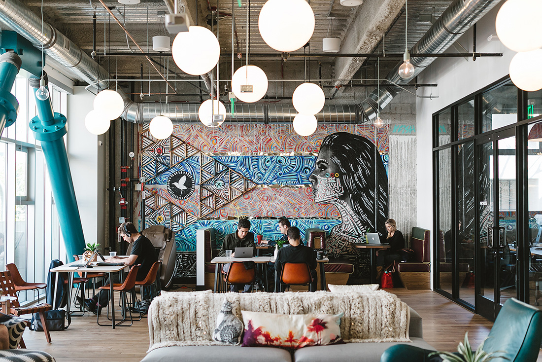 A Tour of WeWork – Promenade, Santa Monica
