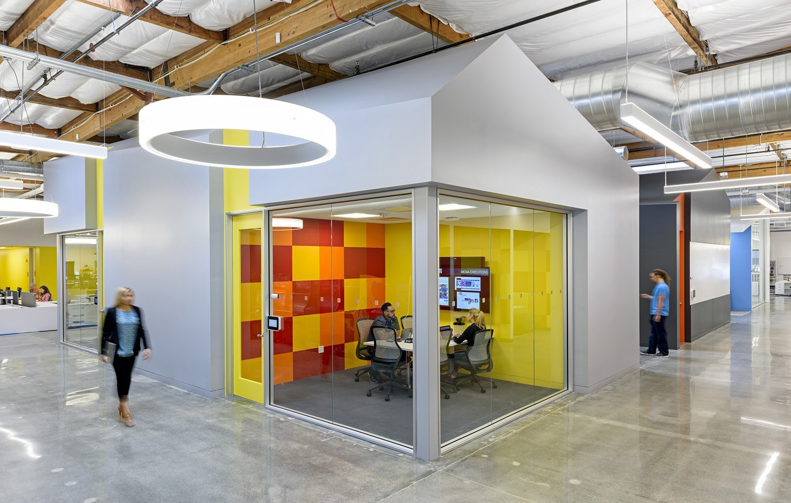 A look inside bandai namco s new santa clara office for Office design game