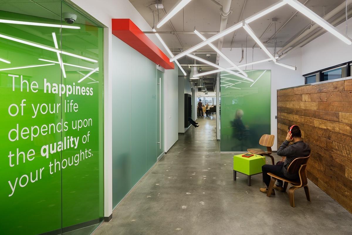 Inside Fuhus Stylish Los Angeles Office Officelovin