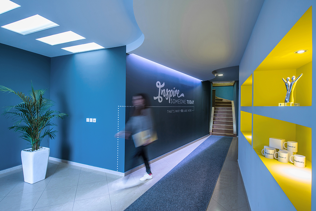 A Tour of Papaki/Tophost's New Stylish Office
