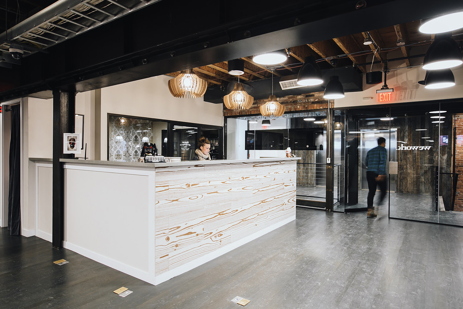 A Tour Of Wework Chinatown Washington D C Officelovin