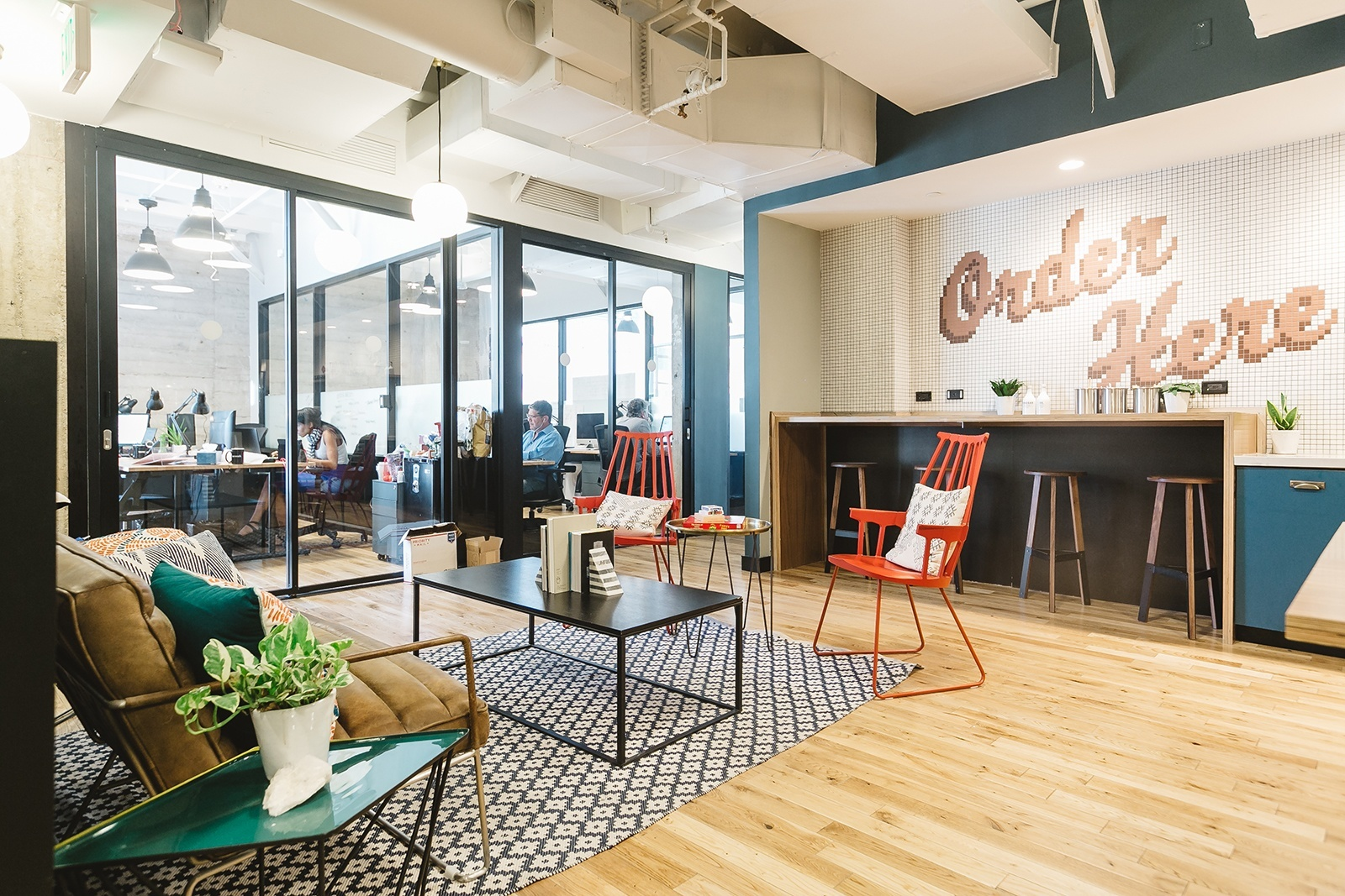 Open Kitchen Living Room Floor Plans A Tour Of Wework L A S Fine Arts Building Officelovin