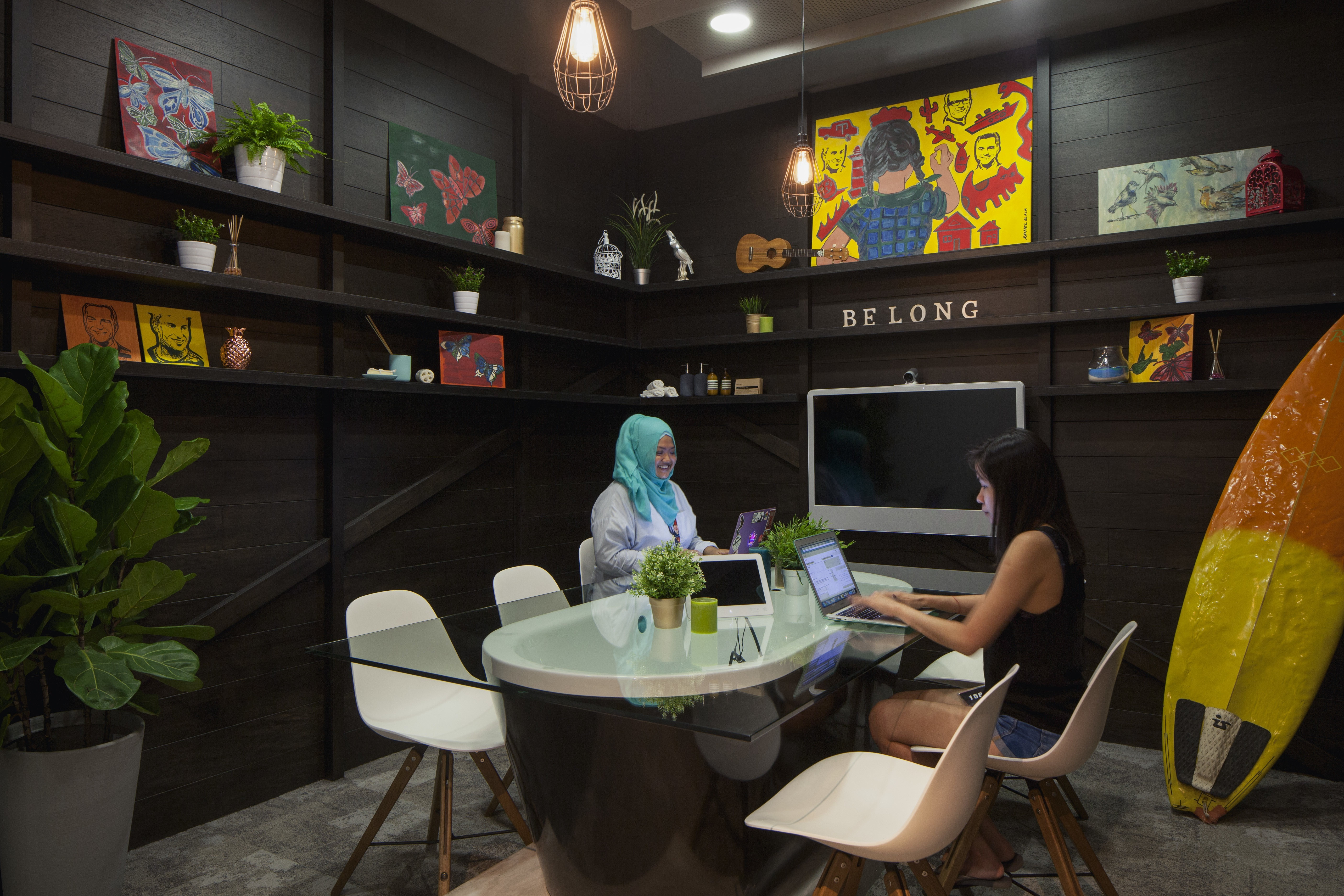 A Tour Of Airbnb S New Singapore Office Officelovin
