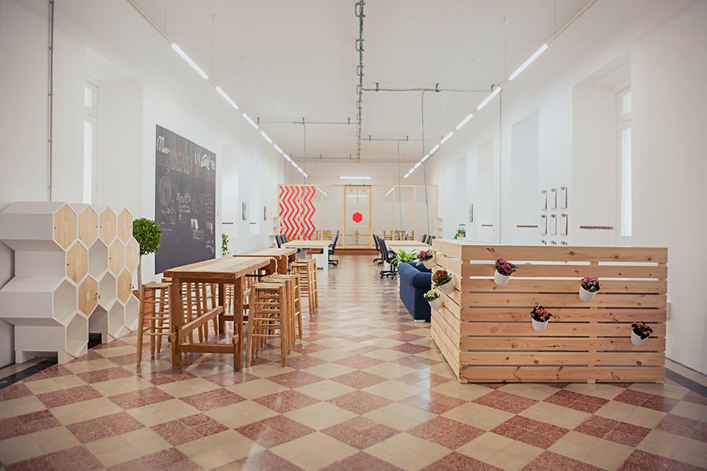 A Tour of La Térmica's Cool Malaga Coworking Space