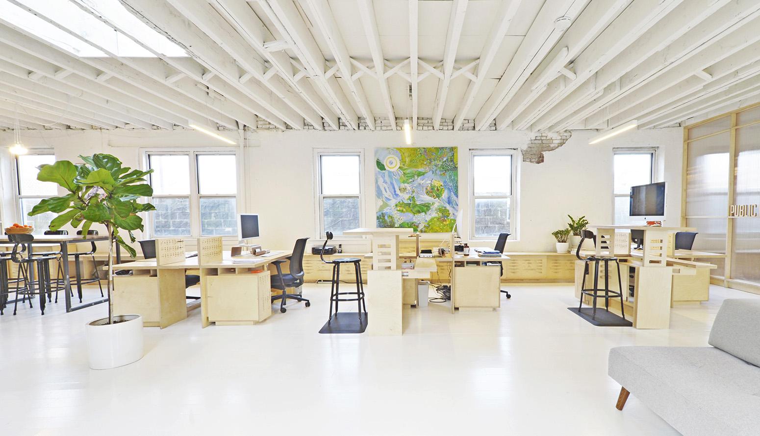 Inside Public Record's Sleek Brooklyn Office
