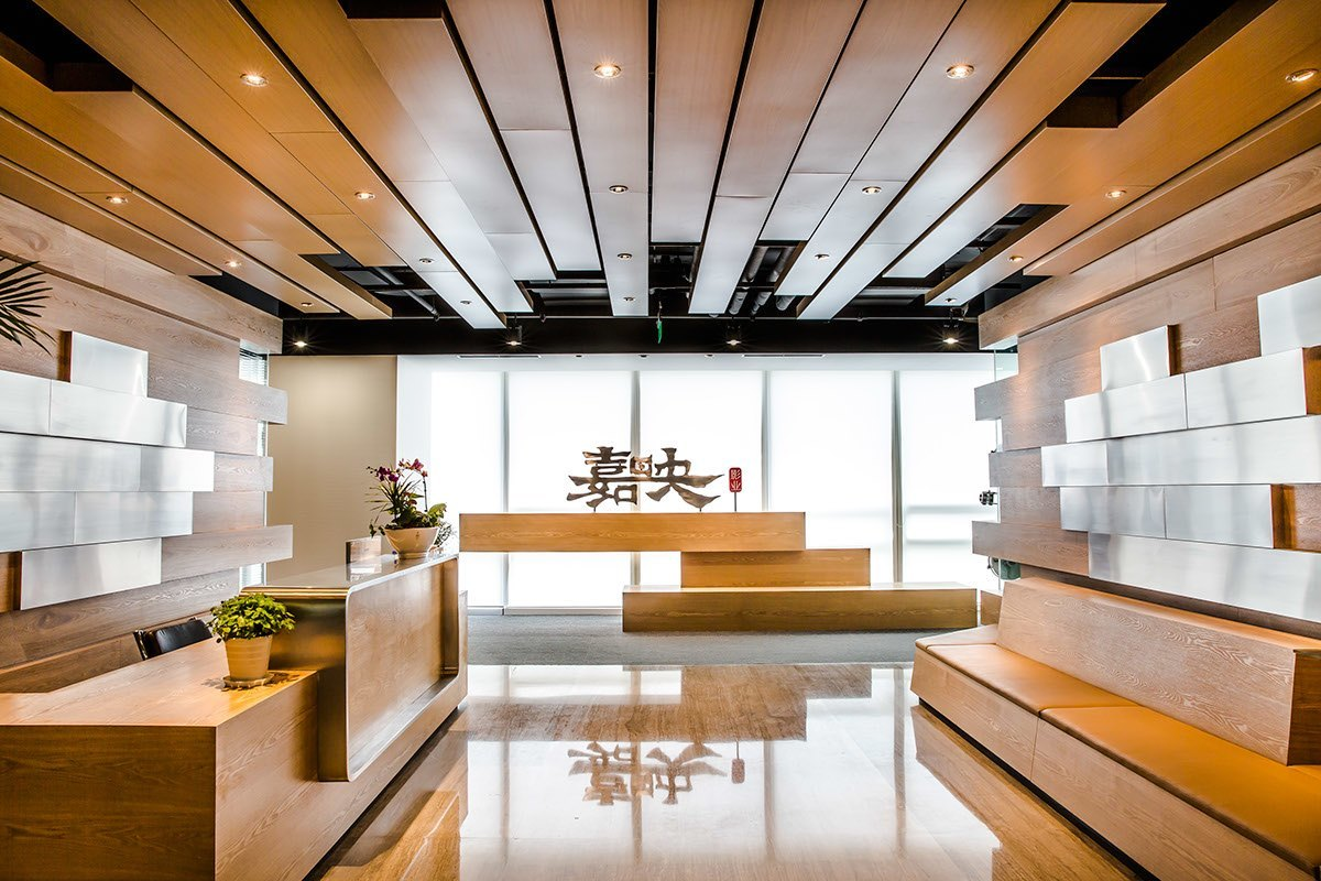 Inside stellar mega films sleek beijing office officelovin 39 for Award winning office interiors