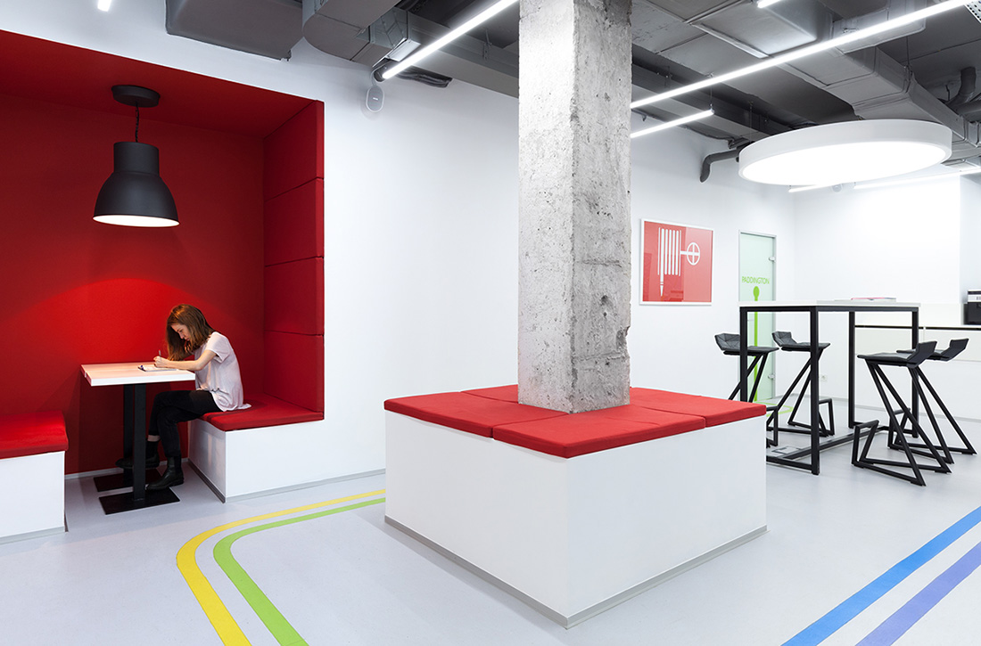 A Tour of Underhub's Cool Kiev Coworking Space