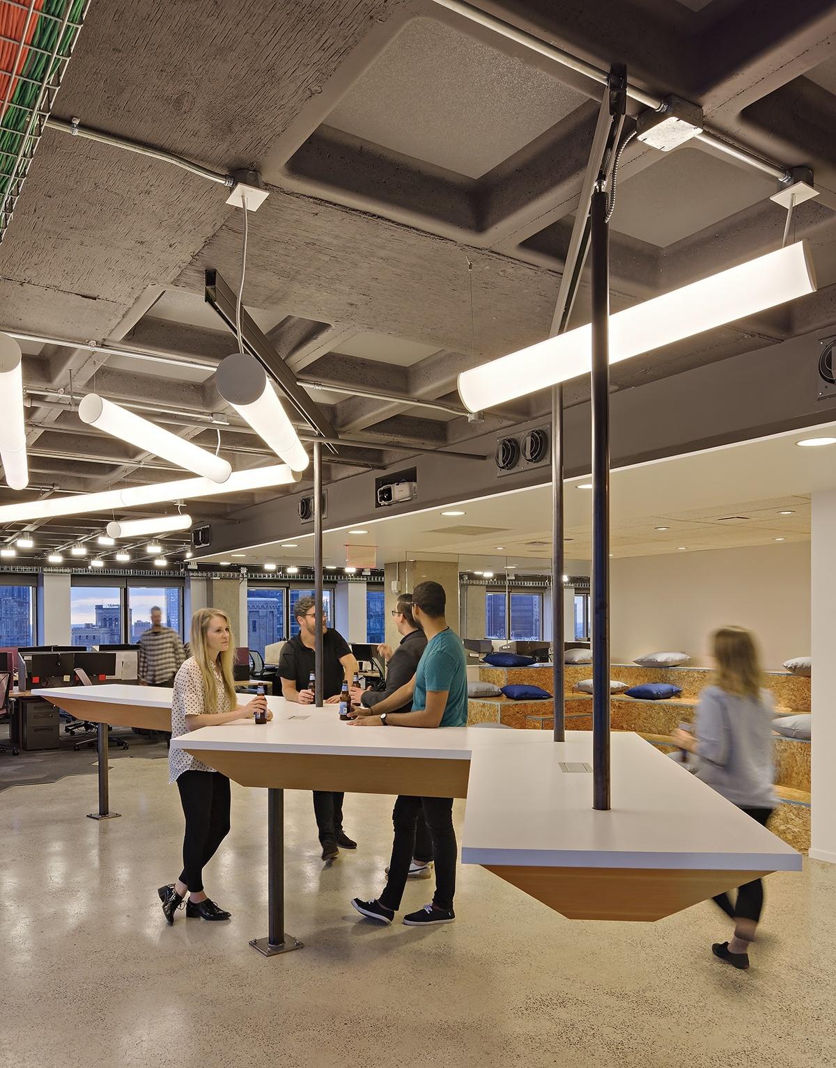 Inside Varonis Modern Nyc Headquarters Phase Ii