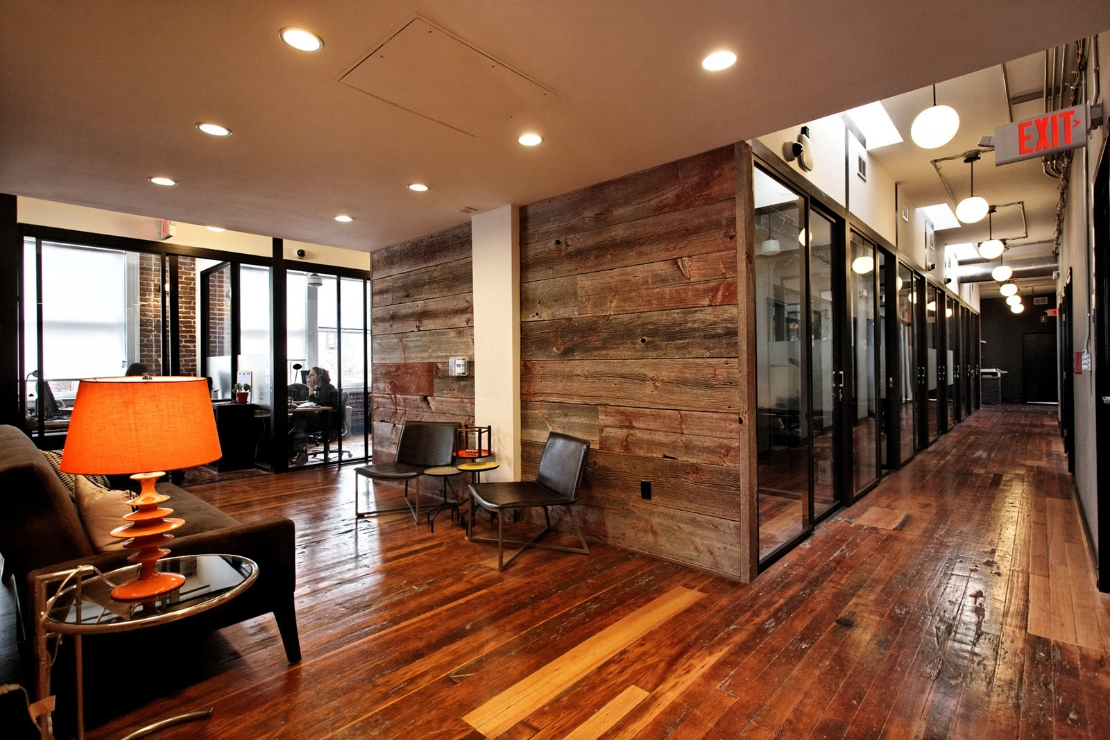 ideas for floor to ceiling partitions - A Look Inside WeWork's SoMa Coworking Space ficelovin