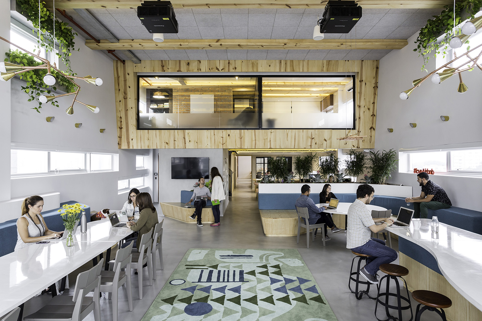 Inside Airbnb's New Sleek Sao Paulo Office