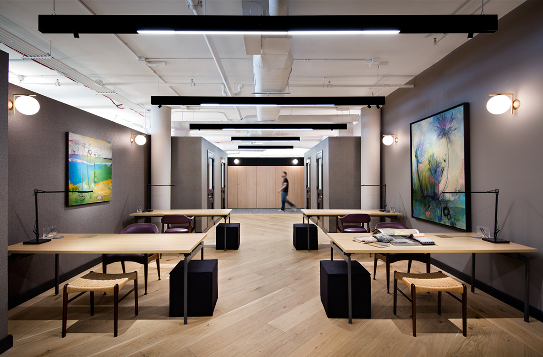 A tour of fuigo s new nyc office officelovin for Interior design studio nyc