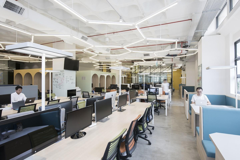 Honestbee singapore office 1 officelovin 39 for Office interior design software