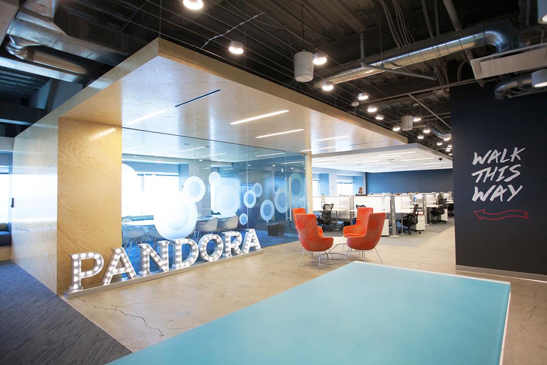 A Look Inside Pandora's Sleek Boston Office