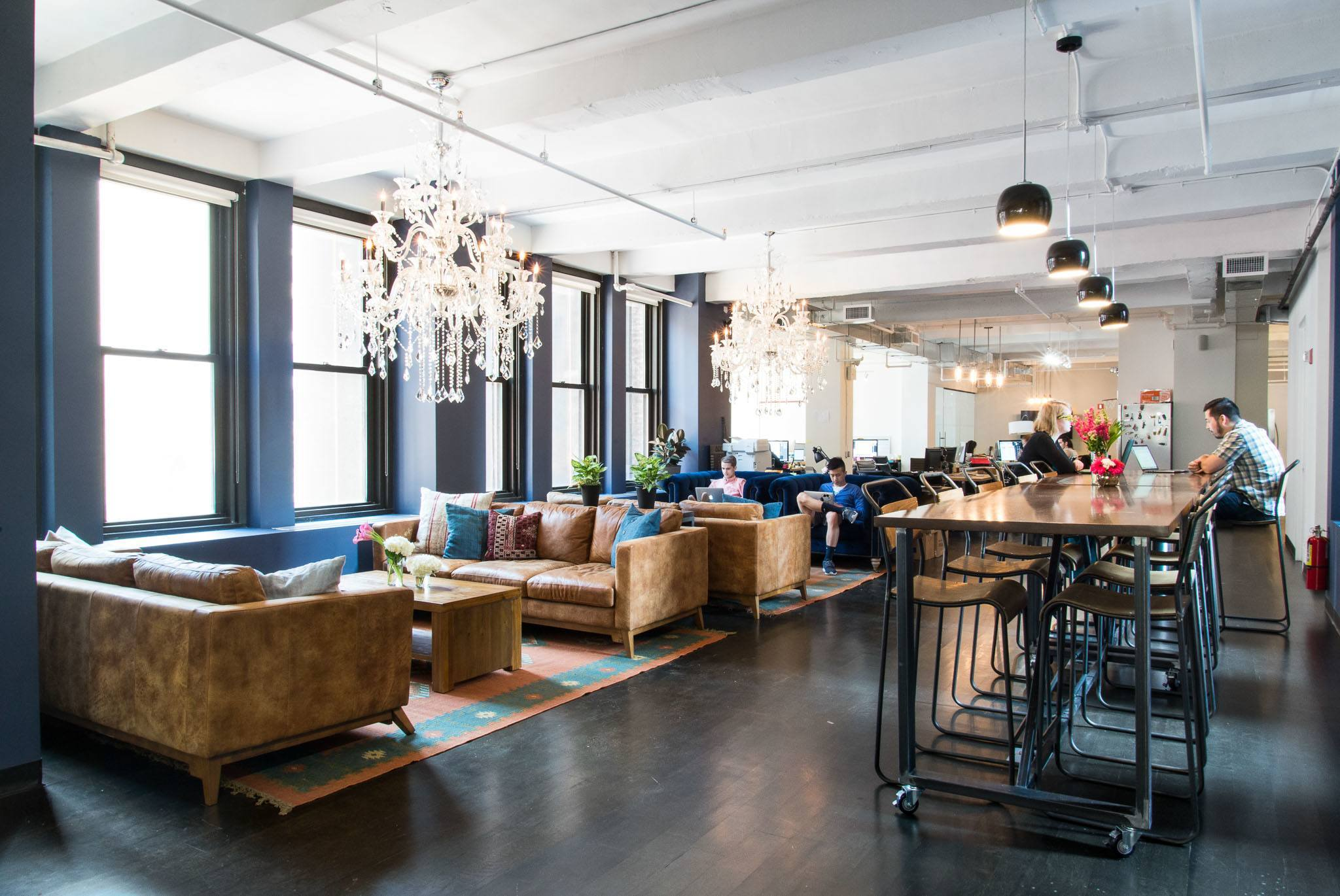 A Tour Of Qlabs Nyc Coworking Space Officelovin