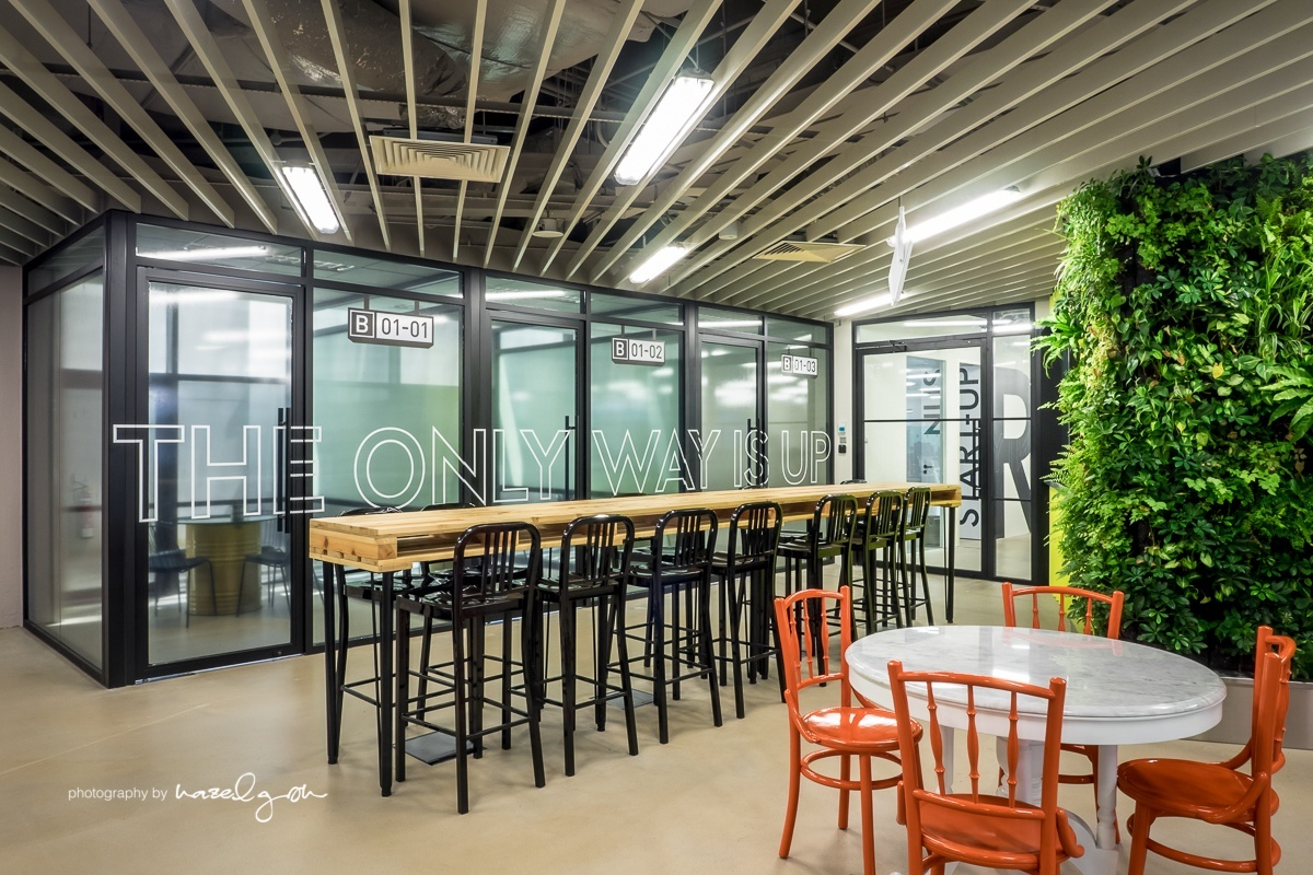 Inside The Hangar S Cool Singapore Coworking Space