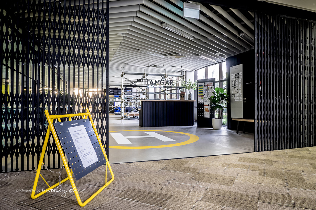 Inside The Hangar's Cool Singapore Coworking Space