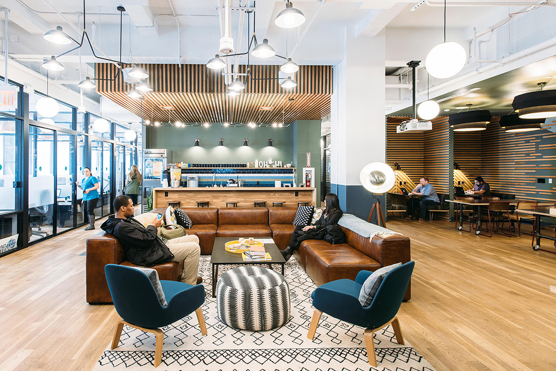A Tour Of Wework 5th Ave Officelovin