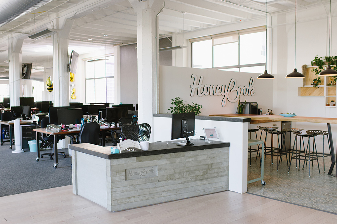 A Tour of HoneyBook's New San Francisco Headquarters