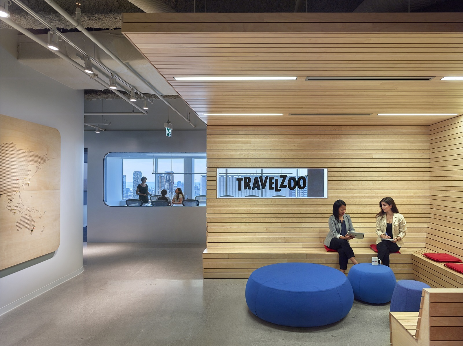 A Tour Of Travelzoo S New Canadian Headquarters Officelovin