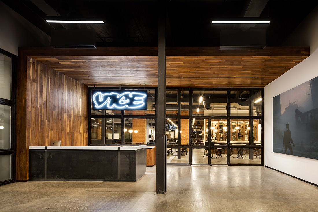 A Tour of VICE's New Sleek Toronto Office