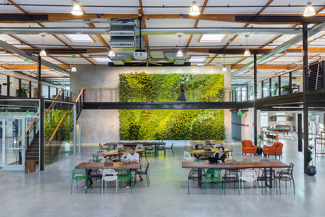 A Tour of Clover Network's Stylish Sunnyvale Office