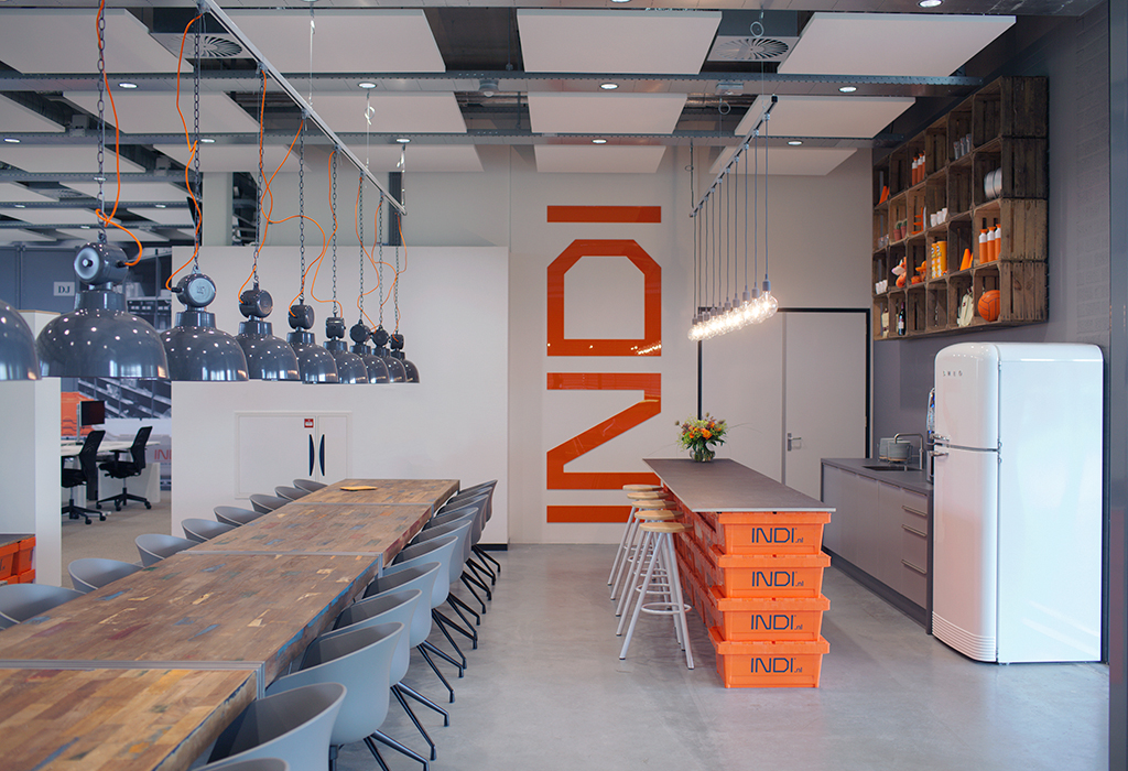 A Look Inside INDI.nl's New Sleek Office