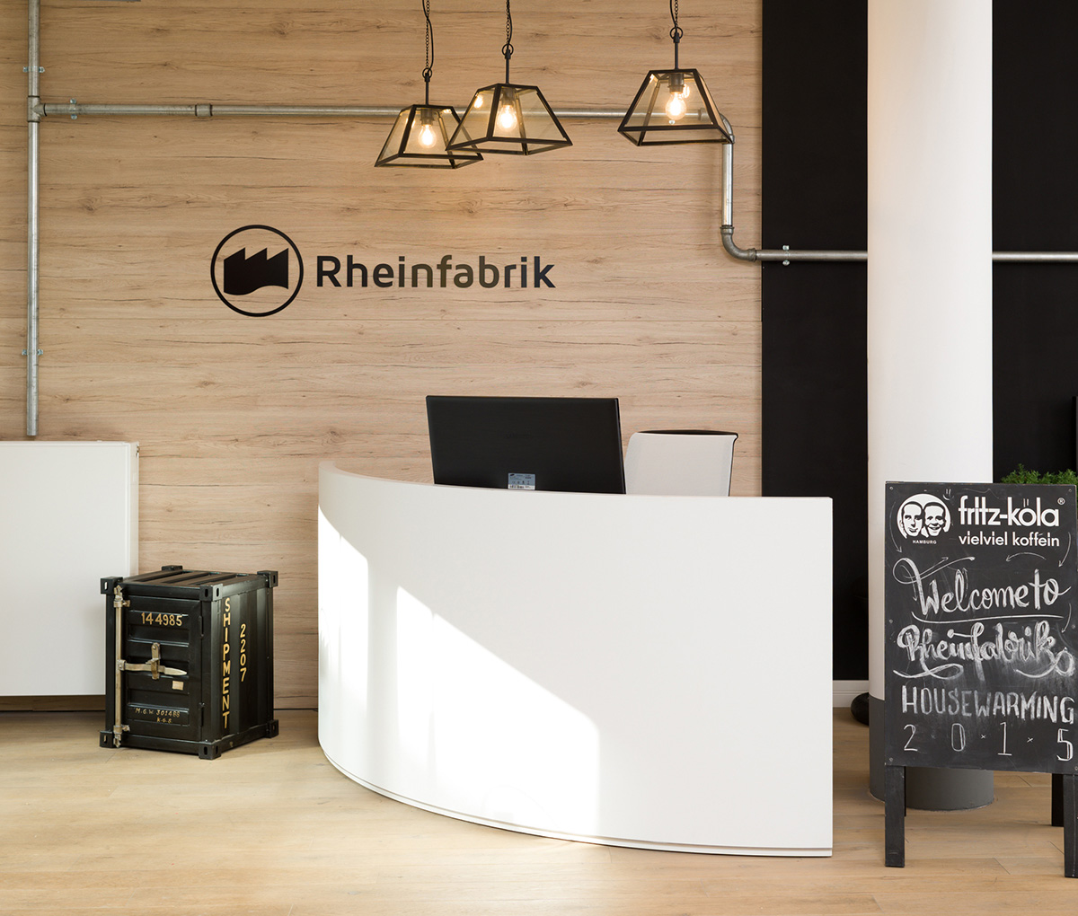 Inside Rheinfabrik's New Dusseldorf Office