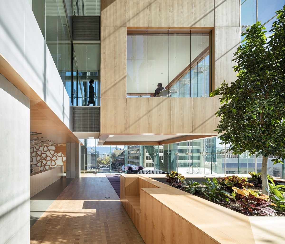 A tour of telus stunning vancouver headquarters for Office design vancouver