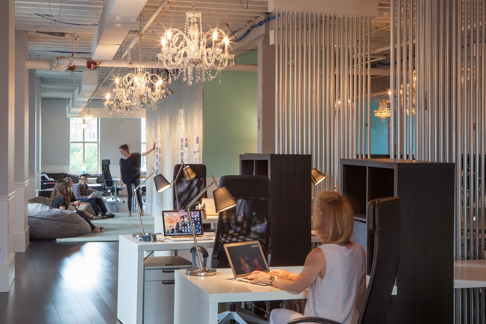 A peek inside the fantastical s new boston office for Design consultancy boston