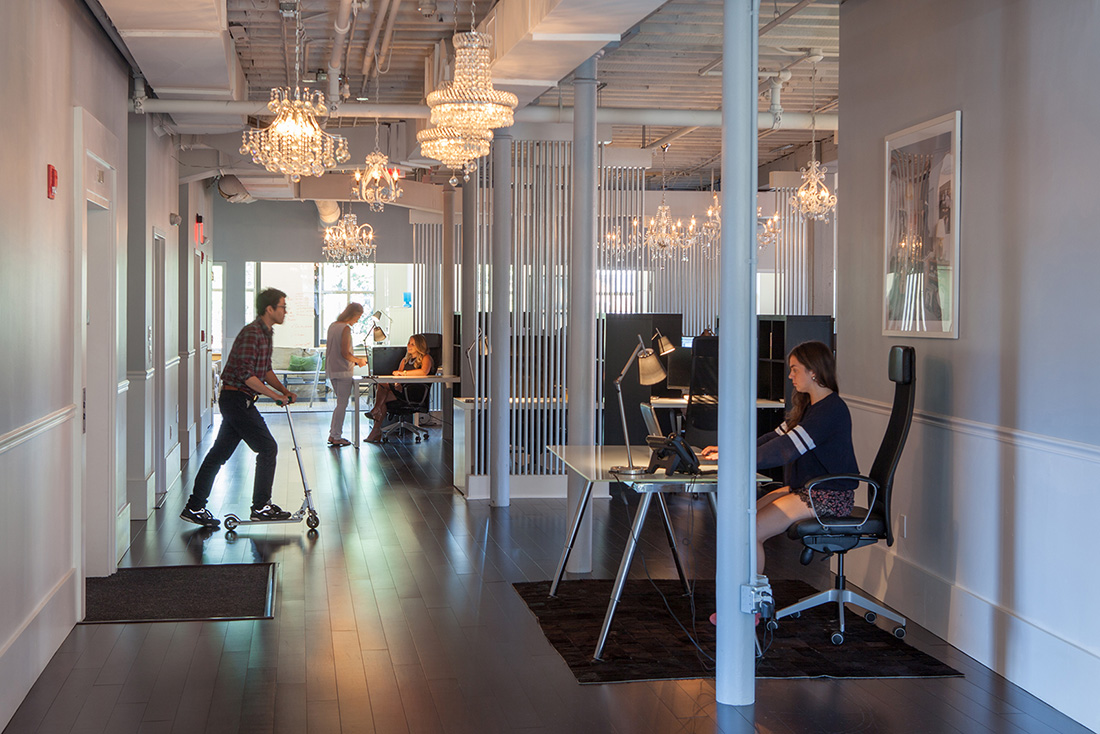 A Peek Inside The Fantastical's New Boston Office