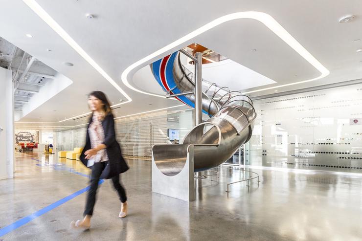 Inside new santa monica headquarters for Bureau high tech