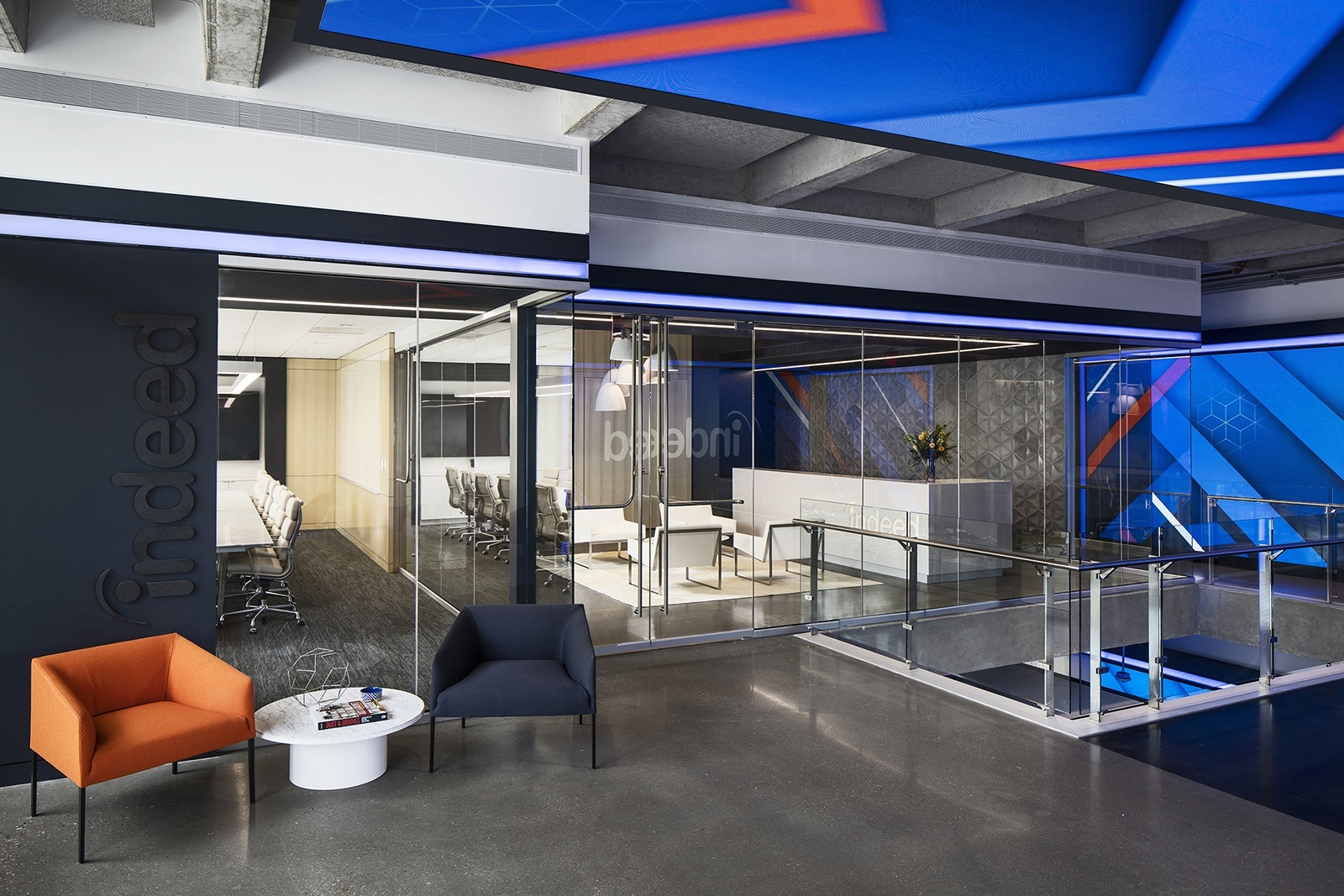 inside indeed s new sleek austin headquarters officelovin