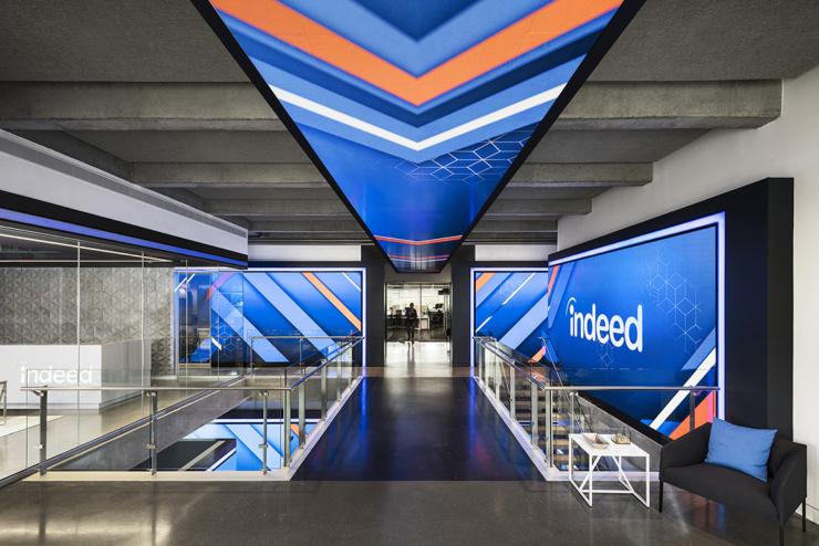 inside indeed u2019s new sleek austin headquarters