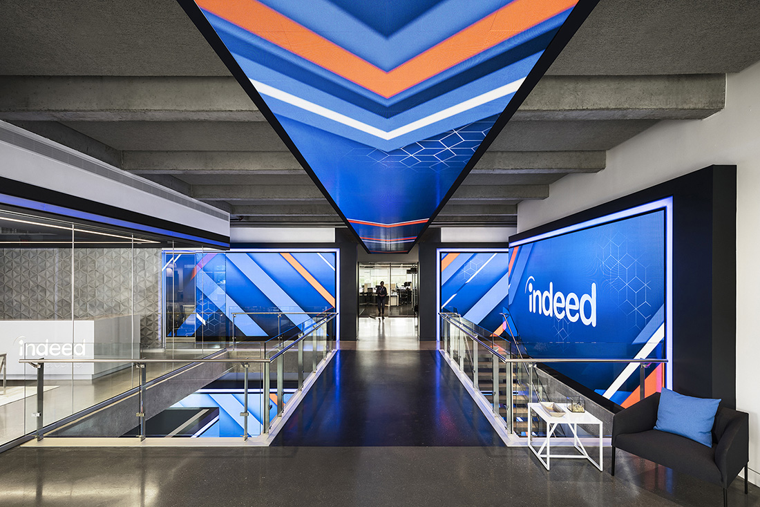 inside indeed u2019s new sleek austin headquarters